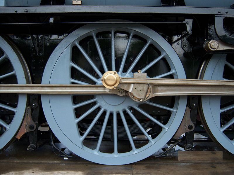 Train Wheel on Basic Car Engine Parts
