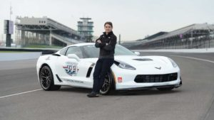 Jeff Gordon and his 2015 Indy Pace Car